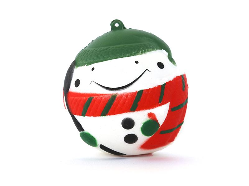 Acheter Squishy rond - Bonhomme de neige - 5,49€ en ligne sur La Petite Epicerie - 100% Loisirs créatifs