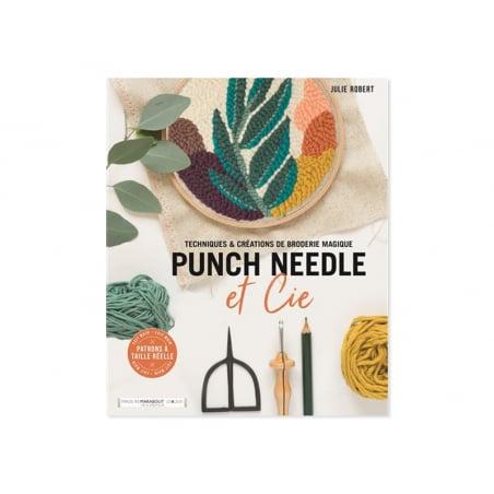 Livre Punch needle et cie Marabout - 1