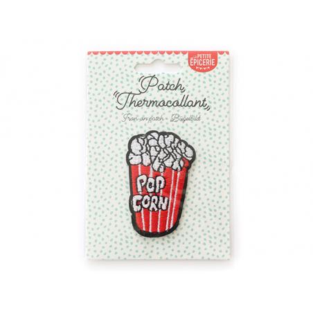 Écusson thermocollant - Pop corn La petite épicerie - 1