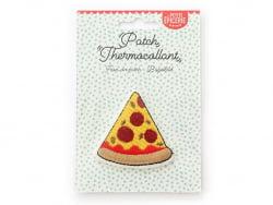 Écusson thermocollant - Pizza La petite épicerie - 1