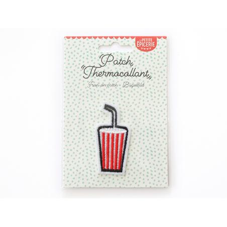 Écusson thermocollant - Soda américain La petite épicerie - 1