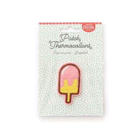 Écusson thermocollant - Glace pastel La petite épicerie - 1