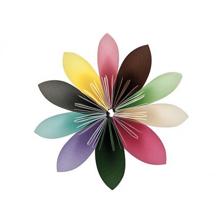 200 feuilles de papier Origami - 10 couleurs - 15 x 15 Rico Design - 2