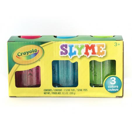Acheter Lot de 3 boites de slime - Slymes de Crayola - 11,99€ en ligne sur La Petite Epicerie - 100% Loisirs créatifs