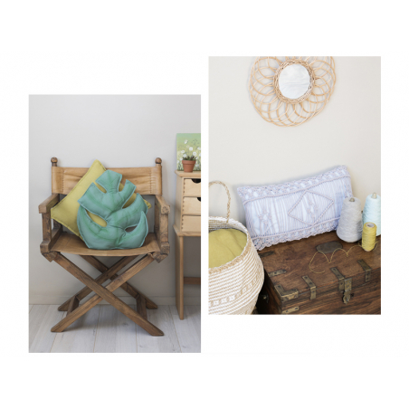Acheter Livre La petite fabrique de coussins - 9,95€ en ligne sur La Petite Epicerie - Loisirs créatifs