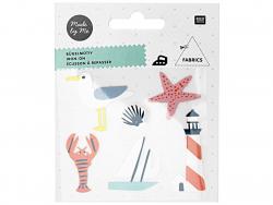 Acheter Petits écussons thermocollants - Thème maritime - 2,99€ en ligne sur La Petite Epicerie - Loisirs créatifs