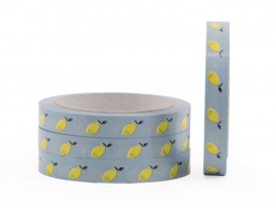 Acheter Rouleau adhésif motif citron - 15mm - 4,99€ en ligne sur La Petite Epicerie - 100% Loisirs créatifs