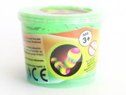 Pâte rebondissante - vert fluo  - 2