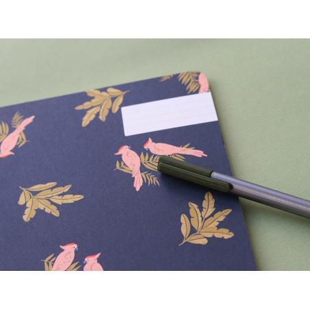 Carnet - Cacatoes bleu Season Paper - 2
