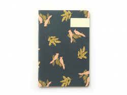 Carnet - Cacatoes bleu Season Paper - 1