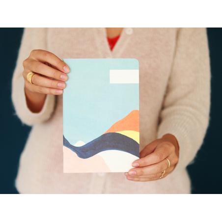 Carnet - Paysage abstrait Season Paper - 3