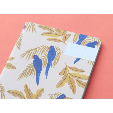 Carnet - Perroquets Season Paper - 2