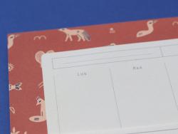 Acheter Semainier - Motifs inuits - 11,90€ en ligne sur La Petite Epicerie - Loisirs créatifs