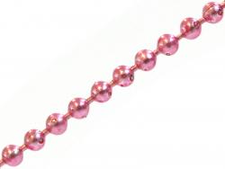 Acheter Chaine bille rose 1,5 mm x 20 cm - 0,40€ en ligne sur La Petite Epicerie - Loisirs créatifs