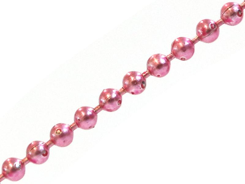 Acheter Chaine bille rose 1,5 mm x 20 cm - 0,40€ en ligne sur La Petite Epicerie - 100% Loisirs créatifs