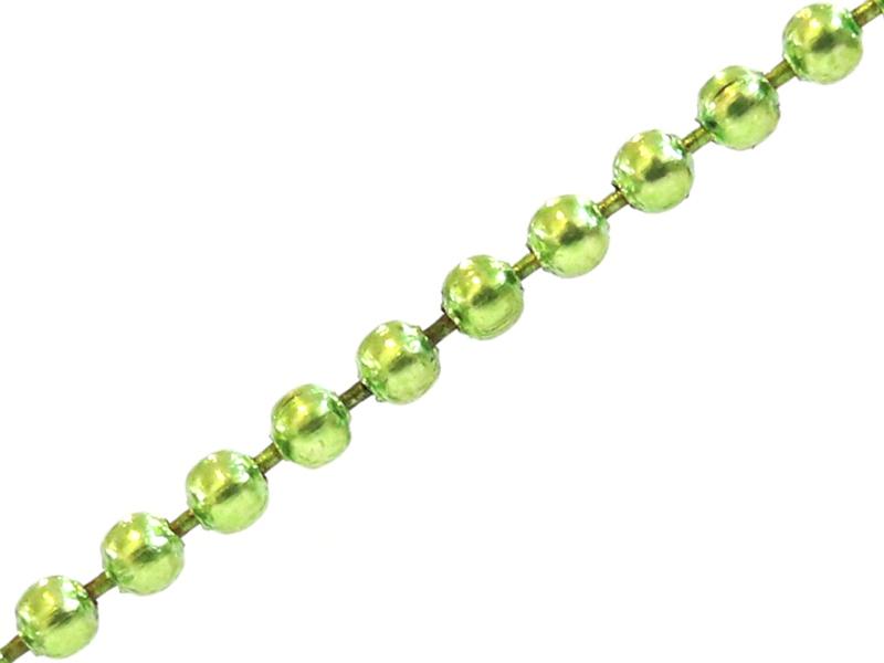 Acheter Chaine bille verte 1,5 mm x 20 cm - 0,40€ en ligne sur La Petite Epicerie - Loisirs créatifs