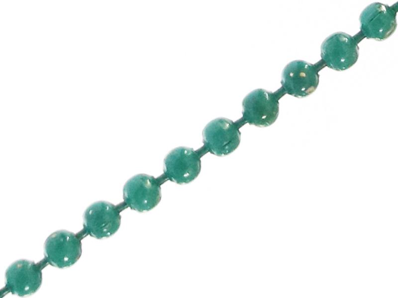 Acheter Chaine bille 1,5 mm vert émeraude x 20 cm - 0,39€ en ligne sur La Petite Epicerie - Loisirs créatifs