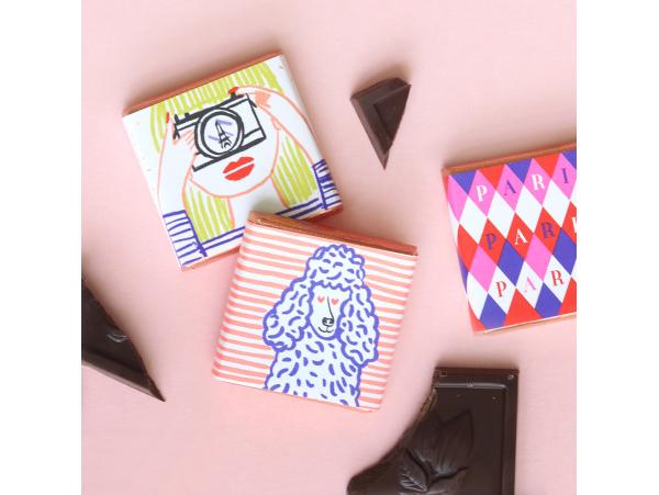 Cadeau partenaire : un carré de chocolat des français Fimo - 1
