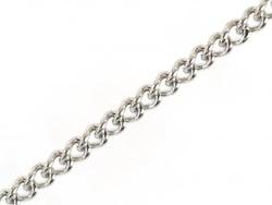 Acheter Chaine gourmette 1,1 mm en acier inoxydable - argenté foncé x 20 cm - 0,69€ en ligne sur La Petite Epicerie - 100% L...