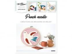 Livre - Punch needle, créations de broderie en relief MANGO - 1