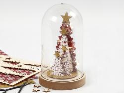 Acheter Cloche sur socle en bois - 6,99€ en ligne sur La Petite Epicerie - 100% Loisirs créatifs
