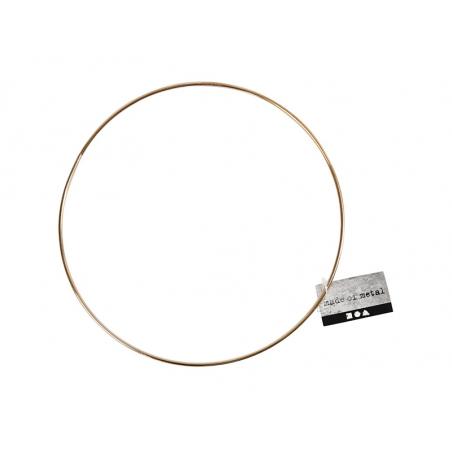 Cercle en métal doré - 20 cm  - 3