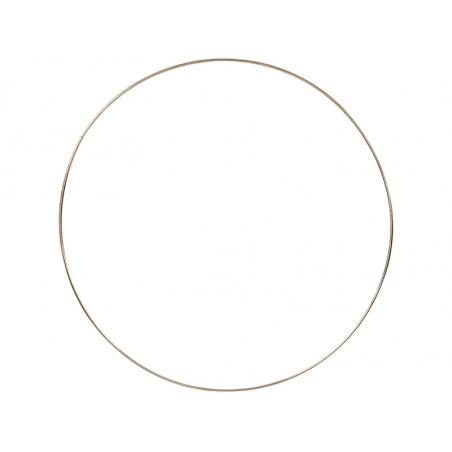 Cercle en métal doré - 30 cm  - 1