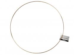 Cercle en métal doré - 30 cm  - 3