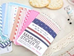 Masking Sticker Set -  version fabric
