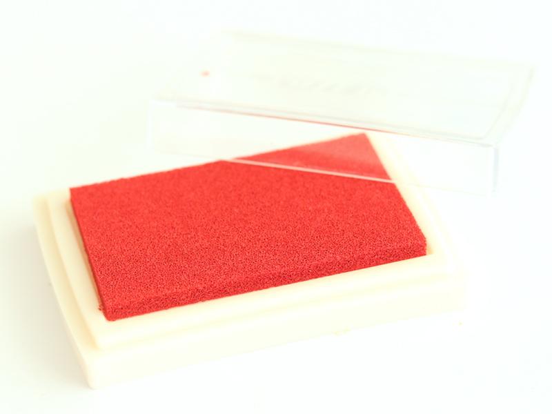 Encreur - rouge  - 1