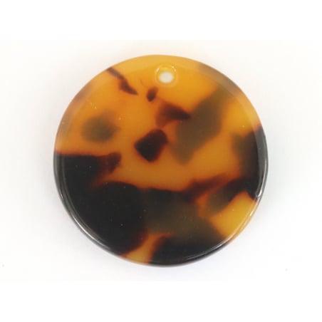 Acheter Pendentif sequin 20 mm écaille de tortue en acétate - 0,69€ en ligne sur La Petite Epicerie - Loisirs créatifs