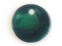 Pendentif sequin 10 mm vert écaille de tortue en acétate  - 1