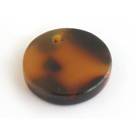 Acheter Pendentif sequin 12 mm écaille de tortue en acétate - 0,49€ en ligne sur La Petite Epicerie - Loisirs créatifs