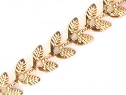Acheter Chaine épis feuilles - doré à l'or fin 24 K x 20 cm - 1,89€ en ligne sur La Petite Epicerie - 100% Loisirs créatifs