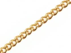 Acheter Chaîne gourmette 2 mm - dorée à l'or fin 24 K x 20 cm - 1,39€ en ligne sur La Petite Epicerie - 100% Loisirs créatifs
