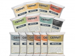 CERNIT Metallic - Hématite Cernit - 2