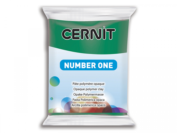 Pâte CERNIT Basic Number One - Emeraude Cernit - 1