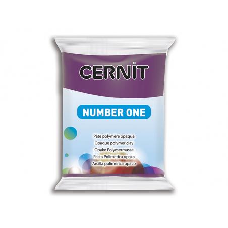 Pâte CERNIT Basic Number One - Pourpre Cernit - 1