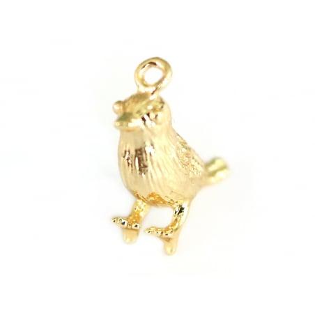 Acheter Pendentif oiseau - doré à l'or fin - 2,19€ en ligne sur La Petite Epicerie - Loisirs créatifs