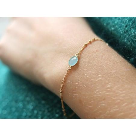 Acheter Chaîne gourmette alternée 3 perles - doré à l'or fin 24 K x 20 cm - 1,79€ en ligne sur La Petite Epicerie - Loisirs ...