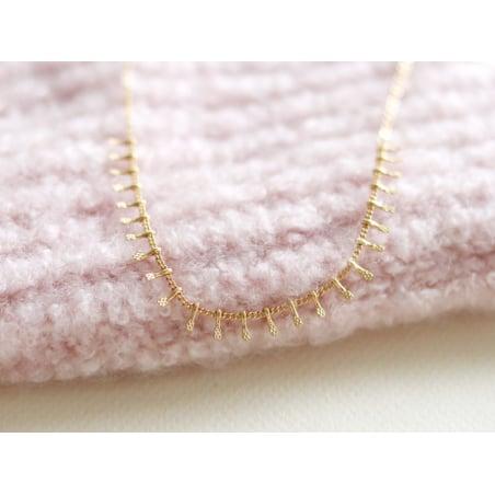 Acheter Chaîne gouttes martelées - dorée à l'or fin 24 K x 20 cm - 1,69€ en ligne sur La Petite Epicerie - 100% Loisirs créa...