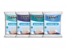 Pâte CERNIT Basic Number One - Pervenche Cernit - 2