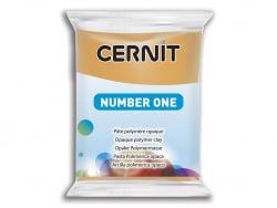Pâte CERNIT Basic Number One - ocre jaune Cernit - 1