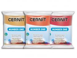 Pâte CERNIT Basic Number One - ocre jaune Cernit - 2