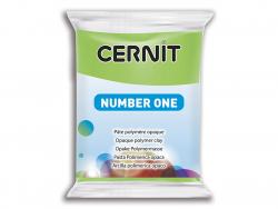 Pâte CERNIT Basic Number One - Vert Clair 50% opacité Cernit - 1