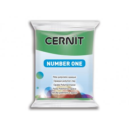 Pâte CERNIT Basic Number One - Vert Cernit - 1