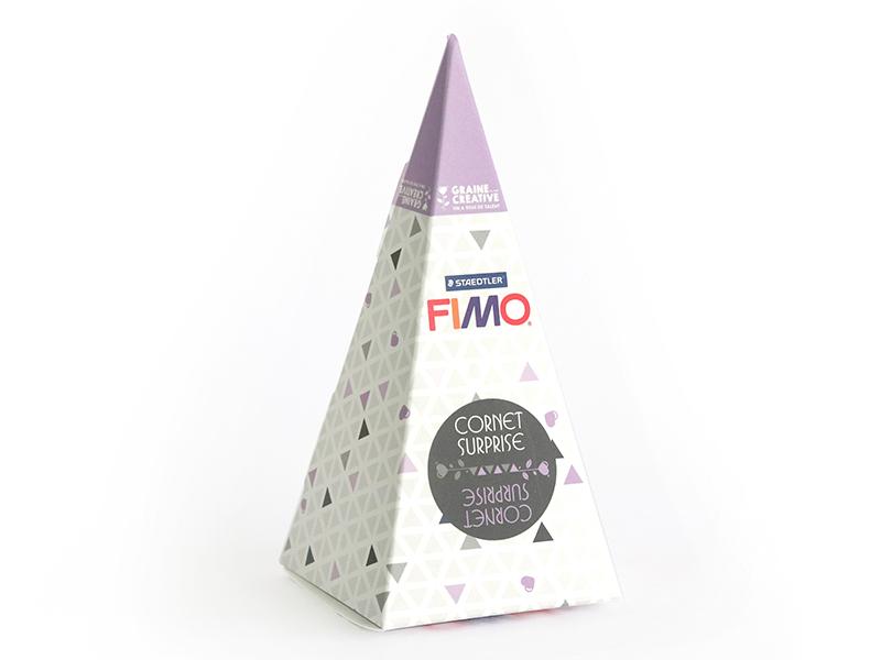 Acheter Cône surprise Fimo n°1 - violet - 6,99€ en ligne sur La Petite Epicerie - Loisirs créatifs