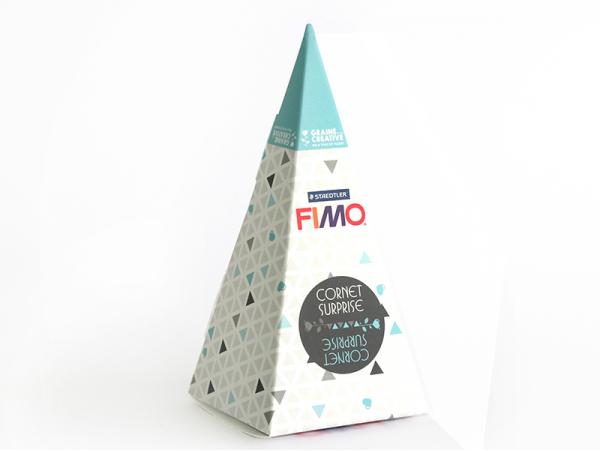 Acheter Cône surprise Fimo n°4 - bleu - 6,99€ en ligne sur La Petite Epicerie - 100% Loisirs créatifs