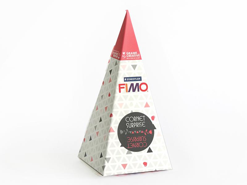 Acheter Cône surprise Fimo n°6 - rose - 6,99€ en ligne sur La Petite Epicerie - 100% Loisirs créatifs