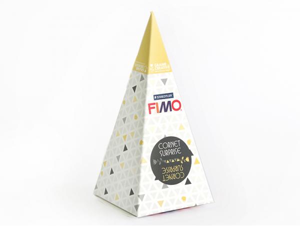 Acheter Cône surprise Fimo n°2 - jaune - 6,99€ en ligne sur La Petite Epicerie - Loisirs créatifs